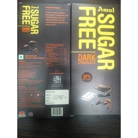 Amul Sugar Free Dark Chocolate, 150 gm