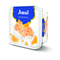 Amul Orange Salsa Ice Cream, 1 litre