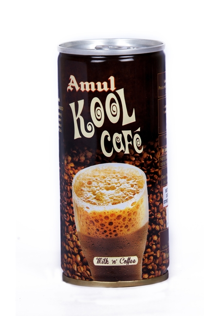 Amul Kool Cafe, glass bottle, 200 ml