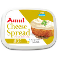 Amul Jeera Cheese Spread, 200 gm