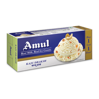 Amul Kaju Draksh Combo Pack Ice Cream, (750ml+ 750ml)