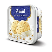 Amul Butterscotch Bliss Ice Cream, 1 liter