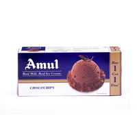 Amul Choco Chips Combo Pack Ice Cream, (750ml+ 750ml)