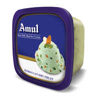 Amul Moroccan Dry Fruit Party Pack Ice Cream, 1 Ltr