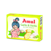 Amul Garlic and Herbs Butter, 100 gm, block