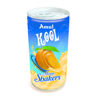 Amul Kool Mango Shakers, can, 200 ml