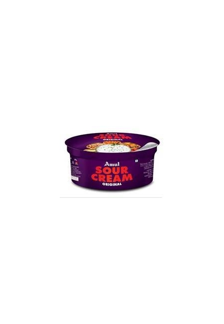 Amul Sour Cream, cup, 200 gm