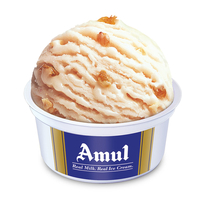 Amul Kaju Draksh Cup Ice Cream 100 Ml, Pack Of 16