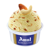 Amul Raj Bhog Cup Ice Cream 100 Ml, Pack Of 16
