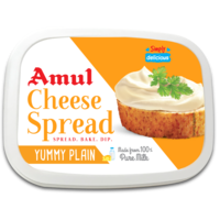 Amul Plain Cheese Spread, 200 gm, cup