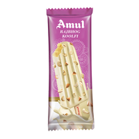 Amul Raj Bhog Sticks Ice Cream 60 Ml, Pack Of 20