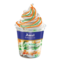 Amul Sundae Mango Ice Cream (Pack of 8)