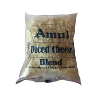 Amul Diced Cheese Blend (Mozzarella & Cheddar Cheese Blend), 200 gm
