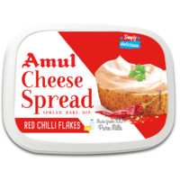 Amul Red Chilli Flakes Cheese Spread, 200 gm