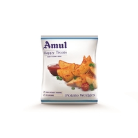 Amul Happy Treats Potato Wedges, 400 gm