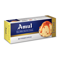 Amul Butter Scotch Combo Pack Ice Cream, (750ml+ 750ml)
