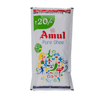 Amul Pure Ghee, 40 ml, pouch
