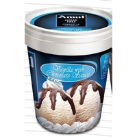 Amul Sugar Free Vanila Ice Cream 125 Ml, Pack Of 8