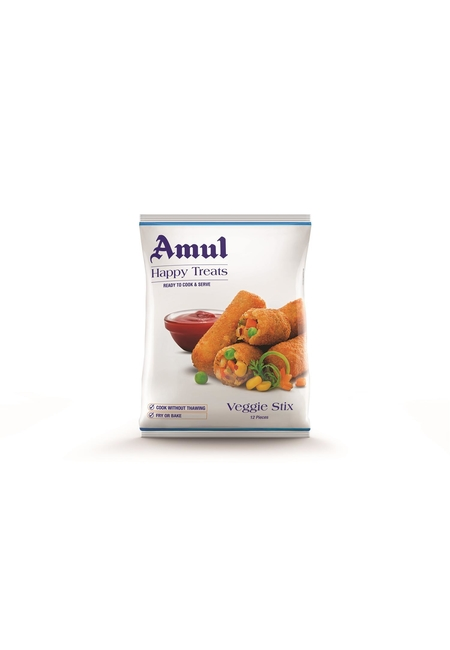 Amul Happy Treats Veggie Stix, 425 gm