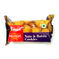 Amul Nuts & Raisin Cookies, 50 gm