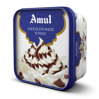 Amul Chocolate Magic Sundae Ice Cream, 1 ltr