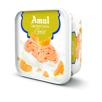 Amul Orange Salsa Gold Ice cream, 1 litre