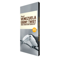 Venezeula Ebony Twist Chocolate, 125 gm