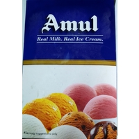 "Amul Cookies"" n"" Cream bulk pack ice cream, 5ltr"