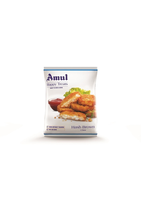 Amul Happy Treats Hash Brown, 360 gm