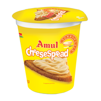 Amul Plain Cheese Spread, 400 gm, cup