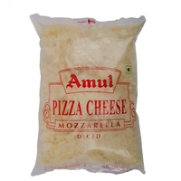 Amul Diced Mozzarella Cheese, 1 Kg