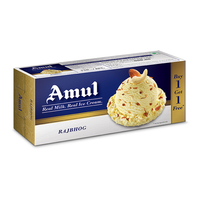 Amul Raj Bhog Combo Pack Ice Cream, (750ml+ 750ml)
