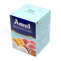 Amul Vanilla Catering Ice Cream, 4 Ltr