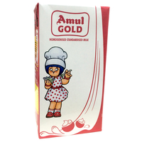 Amul Gold Standardised Milk, tetrapak, 1 l