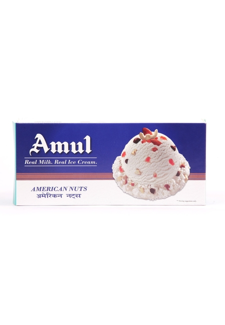 Amul American Nuts Family Pack Ice Cream, 750 ml